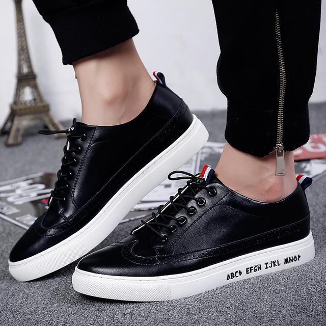 533125745953_黑色 英伦一脚蹬小白板鞋休闲鞋
