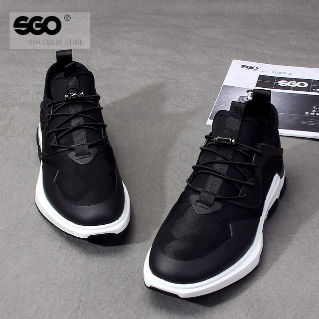 544562149772_887黑 时尚系带厚底板鞋韩版潮流运动休闲鞋