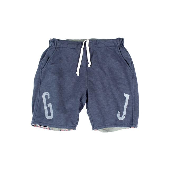 553070355418_藏青色 ANB BRAND GOOD JOB双面穿短裤