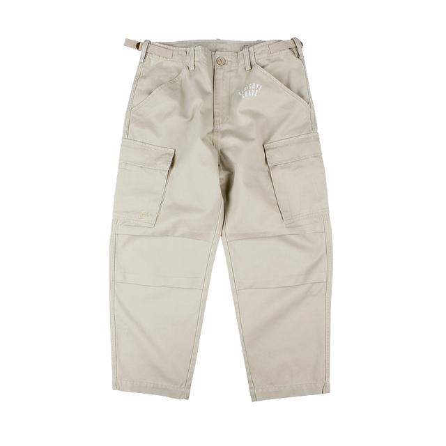 553715026382_浅卡其色 ANB BDU (宽腿)水洗卡其色长裤