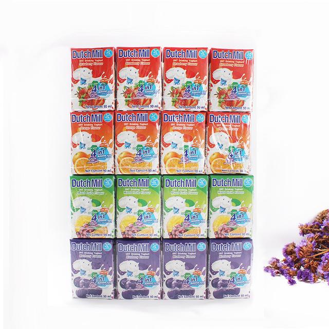 538597967006 泰国进口 Dutch Mill 达美混合果味酸奶 90ml