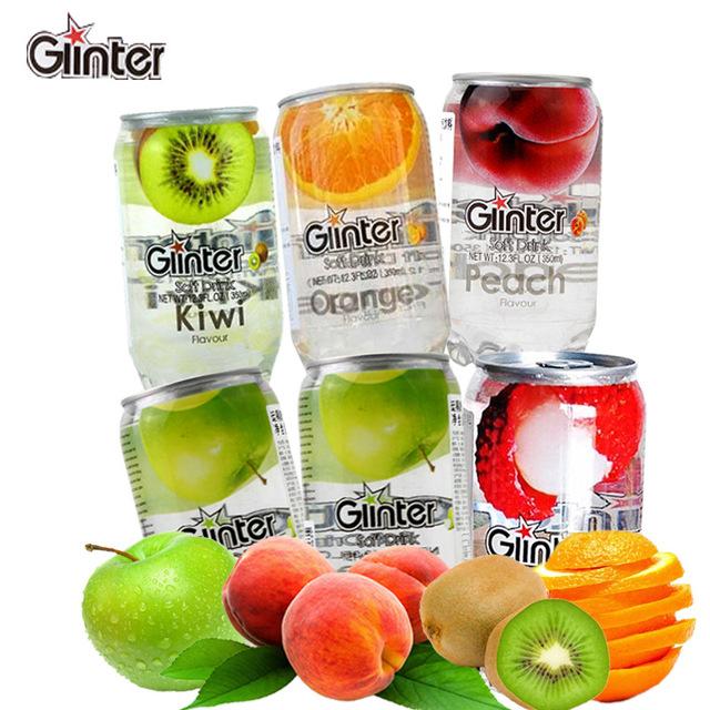 531717085955 马来西亚进口饮料 运得 Ginter果味汽水碳酸350ml