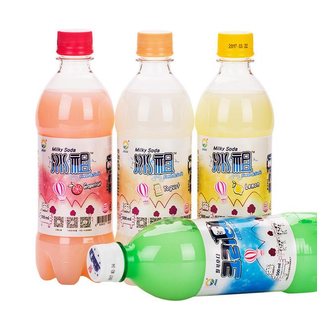 548147709789 九日冰祖进口饮品 牛奶苏打汽水 进口饮料批发 500ml
