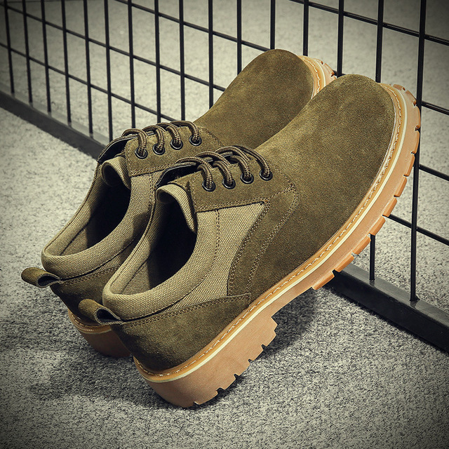 557538254466_19911国防 复古马丁靴潮流工装军靴真皮休闲皮鞋