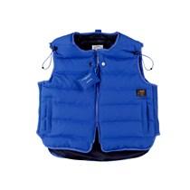 563250157592_蓝色 ANB  A.B 短款羽绒马甲蓝色
