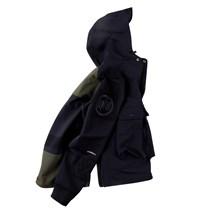564988607214_藏青色军绿色 ANB 订制面料套头冲锋夹克藏青色军绿色