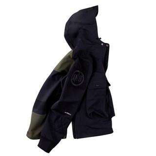 ANB 2017AW / ANB订制面料套头冲锋夹克藏青色军绿色