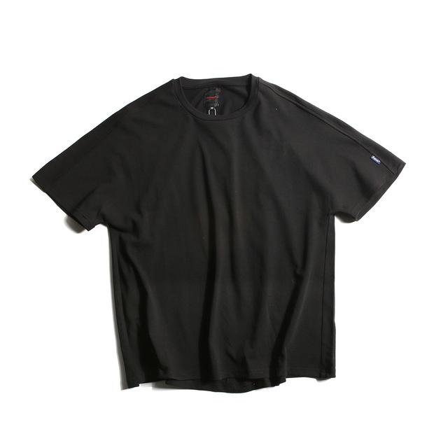 566902831389_黑色 2018夏装新款纯色蝙蝠袖T恤