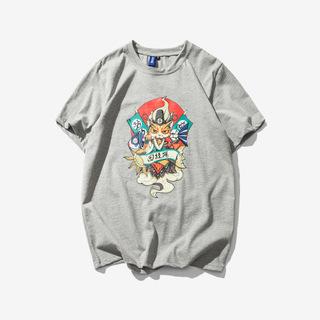 2018夏季潮流休闲纯棉短袖T恤