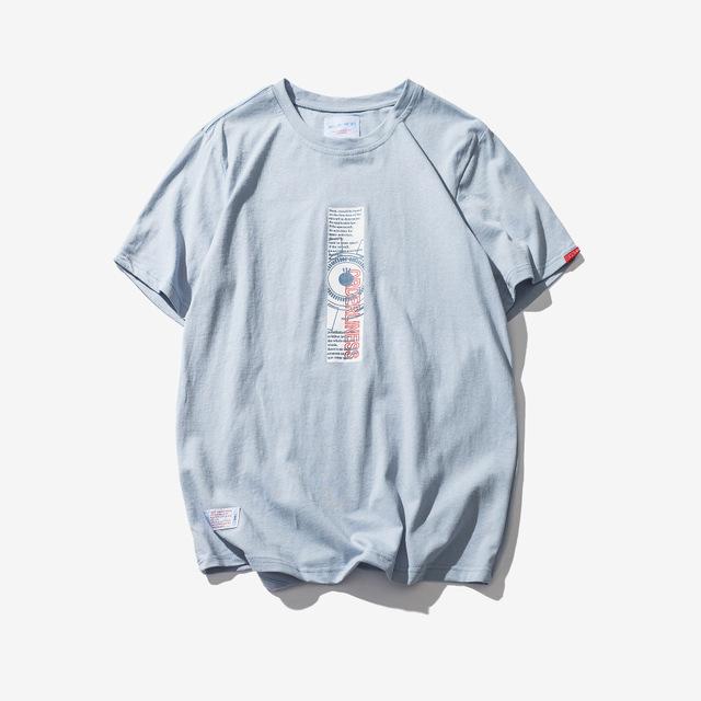 568834504077_浅蓝色 2018日系潮牌简约T恤