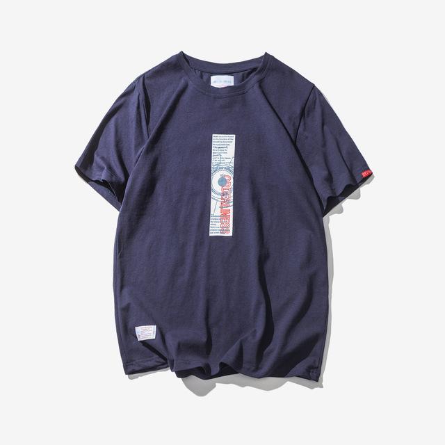 568834504077_藏青色 2018日系潮牌简约T恤