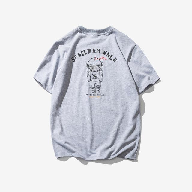 569010072819_灰色 2018原创短袖太空人印花T恤