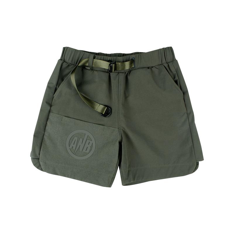 570230142525_军绿色 ANB2018SS/旅行者机能短裤军绿色