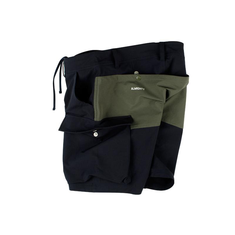 570777973981_藏青色 ANB2018SS/ANB基础机能工装短裤藏青色