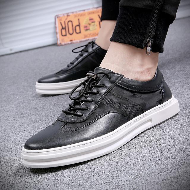 567326848507_556黑色 夏季新款透气小白鞋网纱男士休闲单鞋