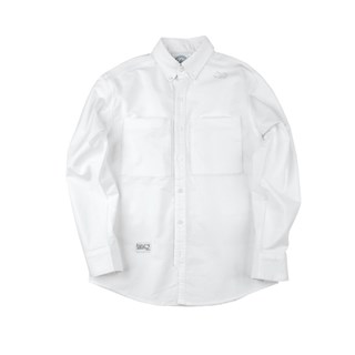 ANB BRAND 2018SS SPLIT JOINT OXFORD SHIRT (L.S)