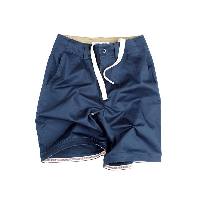 573552290585_藏青色 ANB2018SS/GOODJOB宽大版工装短裤藏青色