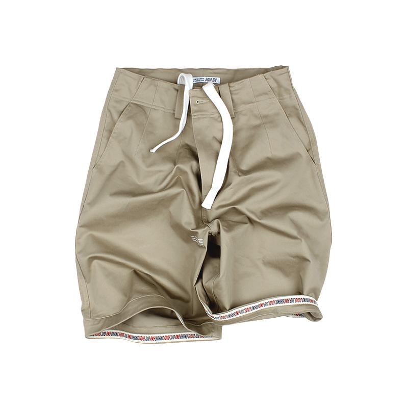 573552290585_卡其色 ANB2018SS/GOODJOB宽大版工装短裤卡其色