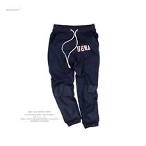 ANB019SS017 ANBU印花运动卫衣长裤