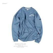 ANB019SS016 ANB UNIVERSIT印花落肩橄榄球TEE(蓝)
