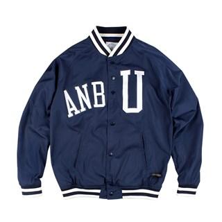 ANB UNIVERSITY经典印花棒球夹克