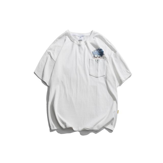 593793308490_白色 夏季新款火影印花短袖t恤男卡通漫画图案ins街头潮流日