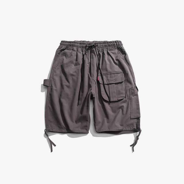 594018957810_灰色 19日系工装短裤男士五分裤夏季潮流潮牌休闲宽松沙滩运
