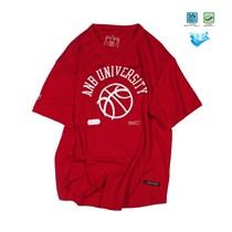 ANB1906002 ANB U 超薄速干面料篮球TEE(红)