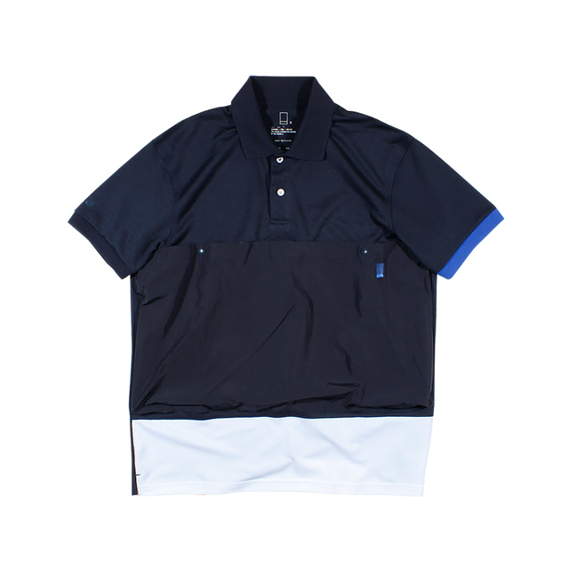 600977752233_藏青色 ANB2019假日胶囊系列 / ANB HOLIDAY 系列短袖POLO