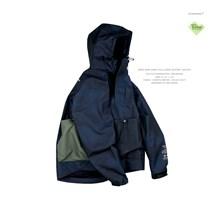 ANB019AW001 ANB 藏青版200%ANB迷彩杜邦套头冲锋外套