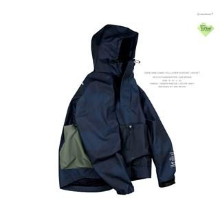 ANB 藏青版200%ANB迷彩杜邦套头冲锋外套
