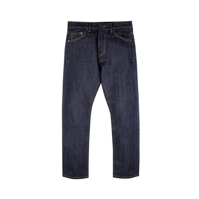 610546594173_深藏青 ANB 2019AW ANB2.0原色赤耳款和水洗基础牛仔裤