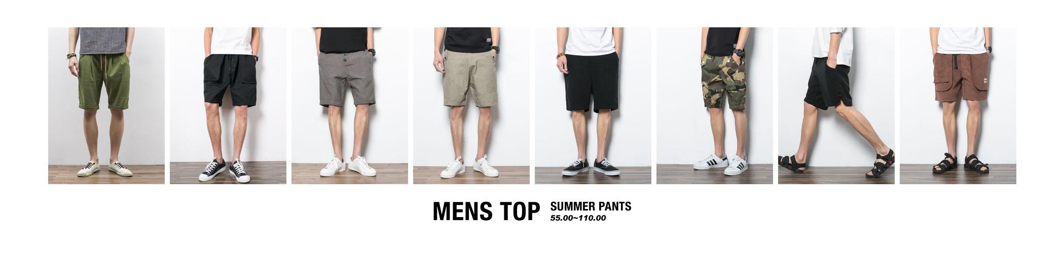 MENS TOP 2016SS SUMMER PANTS